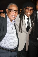 SAM MOORE ,NILE RODGERS at We Are Family Foundation Honors Sting and Trudie Styler with Humanition award at Manhattan Center Grand Ballroom 4 11 2013 Photo by John Barrett/Globe Photo 2013