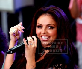 """LITTLE MIX,Leigh -JESY NELSON performs on NBC """"Today'' show at Rockefeller Plaza 8-19-2015 Photos by John Barrett/Globe Photos 2015"""