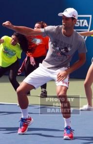 NOVAK DJOKOVIC at Arthur Ashe Day at US Tennis Open 8-29-2015 John Barrett/Globe Photos 2015