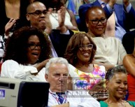 OPRAH WINFREY,GAYLE KING Celebs at US Open Tennis Day 9 at Arthur Ashe Stadium 9-8-2015 John Barrett/Globe Photos 2015