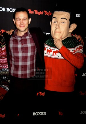 JOSEPH GORDON-LEVITT at NY Screening of ''The Night Before'' at Landmark sunshine Theatre E.Houston st 11-16-2015 John Barrett/Globe Photos 2015
