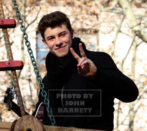 SHAWN MENDES at the 89th Macy's Thanksgiving Day Parade 11-26-2015 John Barrett/Globe Photos 2015
