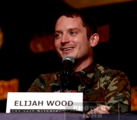 ELIJAH WOOD attends the''The Last Witch Hunter'' panel at day 4 of NY Comic Con at Javits center 10-11-2015 John Barrett/Globe Photos 2015