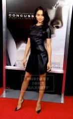 SHANINA SHALK Screening of''Concussion'' at AMC Loew's Lincoln Square 12-16-2015 John Barrett/Globe Photos 2015