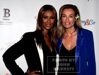 FREDERIQUE Van der Wal,IMAN Frederique launches her life style and Flower Brand at Gallow green rooftop 9-29-2015