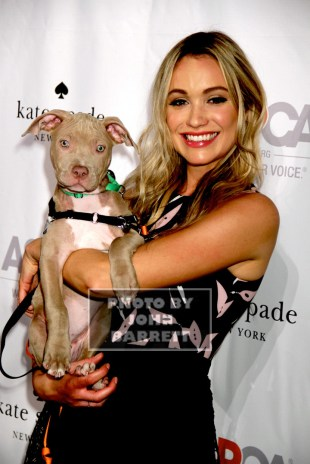 KATRINA BOWDEN at ASPCA young friends Benefit at IAC Building 555 W.18st 10-15-2015 John Barrett/Globe Photos 2015