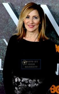 EDIE FALCO she got a new face at HBO premiere of ''VINYL'' at Ziegfeld Theatre 1-15-2016 John Barrett/Globe Photos 2016
