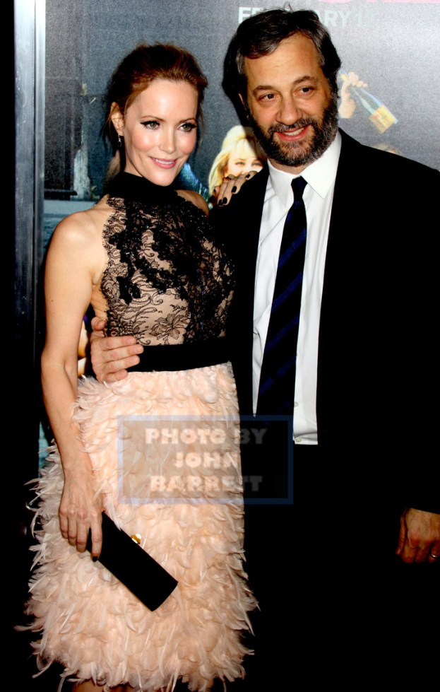 LESLIE MANN,JUDD APATOW at World Premiere of ''How to be Single '' at NYU Skirballl center of Performing arts 2-3-2016 John Barrett/Globe Photos 2016