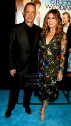 TOM HANKS,RITA WILSON at Premiere of ''My Big Fat Greek Wedding 2'' at AMC Loews Lincoln Square 3-15-2016 John Barrett/Globe Photos2016