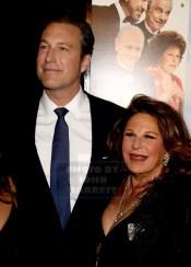 JOHN CORBETT,LAINIE KAZAN at Premiere of ''My Big Fat Greek Wedding 2'' at AMC Loews Lincoln Square 3-15-2016 John Barrett/Globe Photos2016 ,