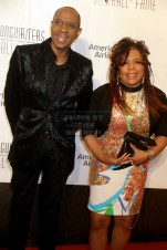 FEDDIE JACKSON,VALERIE SIMPSON at Songwriters Hall of Fame at NY Marquis Hotel 6-9-2016 John Barrett/Globe Photos 2016