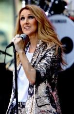 CELINE DION at NBC ''Today ''Show Concert Series at Rockefeller Plaza 7-22-2016 John Barrett/Globe Photos 2016