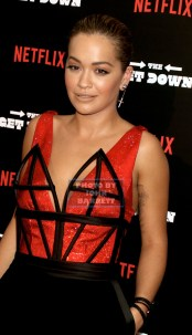 RITA ORA at NY Premiere of ''The Get Down'' at Lehman Center for the Performing Arts 250 Bedford Park Blvd,Bronx 8-11-2016 Photos by John Barrett/Globe Photos 2016