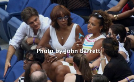 DR OZ ,GALE KING at Tennis US Open Day 13 at Flushing Meadow Park,Queens 9-10-2016 John Barrett/Globe Photos 2016