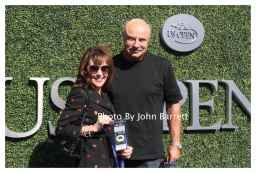 DR PHIL and wife at Tennis US Open Day 14 at Flushing Meadow Park,Queens 9-11-2016 John Barrett/Globe Photos 2016