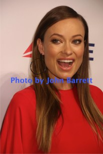 OLIVIA WILDE at Martin Scorsese Honored with Friars Club coveted entertainment Icon award at Cipriani Wall street 9-21-2016 John Barrett/Globe Photos 2016