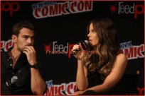 KATE BECKINSALE,THEO JAMES at panel for new movie ''Underworld:Blood Wars'' at NY Comic Con at Javits Center 10-7-2016 Photos by John Barrett/Globe Photos 2016
