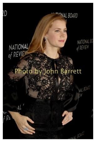 AMY ADAMS at National Board of Review Gala at Cipriani East 42street 1-4-2017 John Barrett/Globe Photos 2017