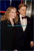 MIA FARROW and son at TIME 100 Gala at Frederick P.Rose Hall at Lincoln Center 59st and Columbus Ave 4-25-2017 John Barrett/Globe Photos 2017