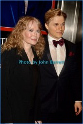 MIA FARROW and son at TIME 100 Gala at Frederick P.Rose Hall at Lincoln Center 59st and Columbus Ave 4-25-2017 John Barrett/Globe Photos 2017