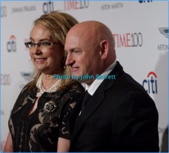 GABRIELLE GIFFORDS at TIME 100 Gala at Frederick P.Rose Hall at Lincoln Center 59th and Columbus ave 4-25-17 Photo by John Barrett/Globe Photos 2017