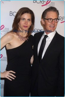 KYLE MACLACHLAN,DESIREE GRUBER at Breast cancer research foundation to launch ''Super Nova'' hot pink party at park ave armory 5-12-17 John Barrett/Globe Photos 2017