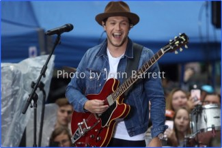 NIALL HORAN performing on NBC ''Today'' Show at Rockefeller Plaza 5/29/17 John Barrett/Globe Photos 2017
