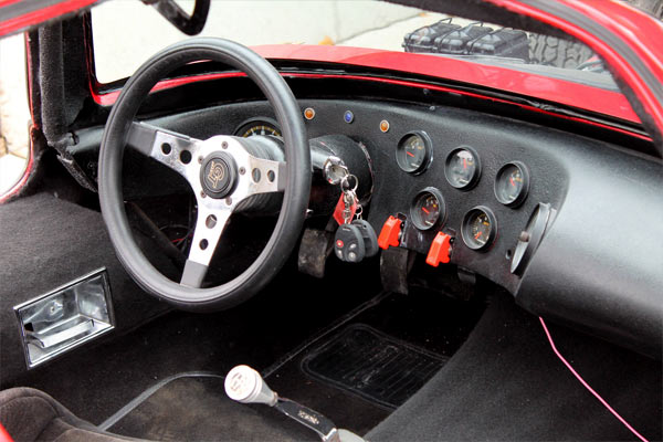 1963 Bill Thomas Corvette Cheetah Replica Muscle Car
