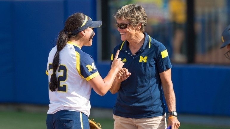 Carol Hutchins University of Michigan Softball Program Head Coach
