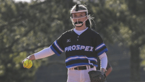 Bronwyn Borden considers the pitch for a new batter
