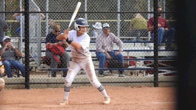 Madison Edwards at Bat