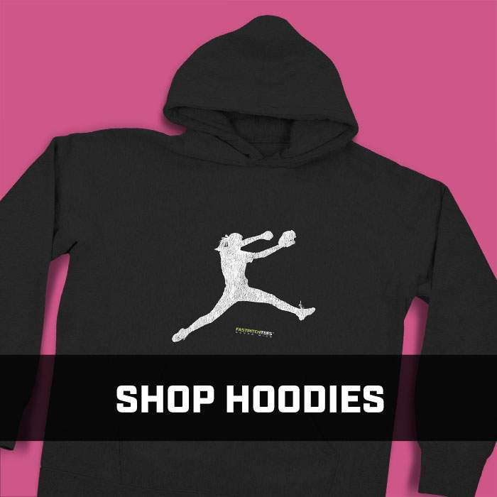 Shop Softball Hoodies - Fastpitch Tees