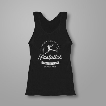 Vintage Fastpitch Softball Tanktop