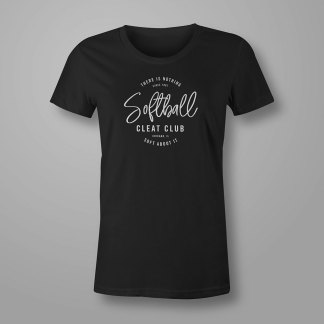 Softball Cleat Club – Softball T-shirt
