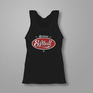 Because Softball - Fastpitch Tees Softball Tank Top