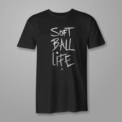 Softball Life - Fastpitch Tees Softball Tshirt