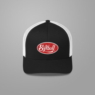 Softball Trucker Hat - Fastpitch Tees