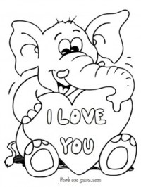 Valentines Day Coloring Pages Printable – Valentine\'s Day Info