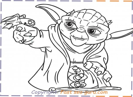 Yoda Coloring Pages To Print Free Printable Coloring Pages For Kids