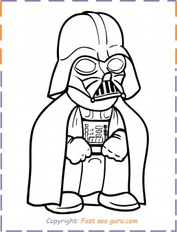 Baby Darth Vader Coloring Pages Free Printable Coloring Pages For Kids