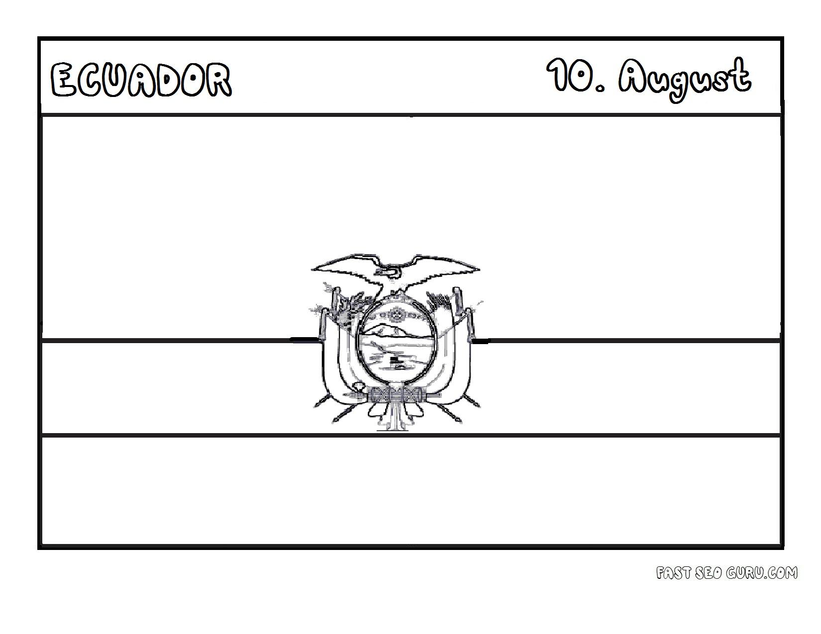 Ecuador Worksheet