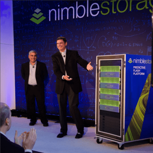 Nimble Storage CEO unveiling the predictive flash platform
