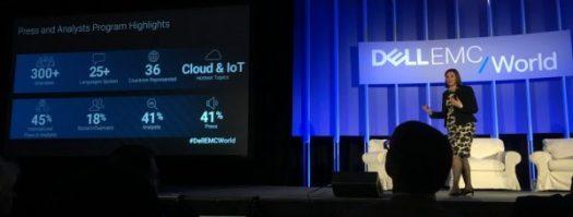 DellEMCWorld Social Influencer stats