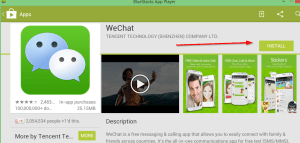Install wechat on playstore