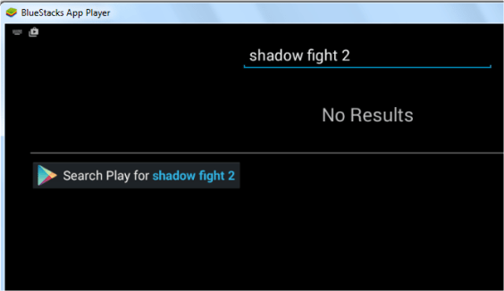 Search Play for Shadow Fight 2