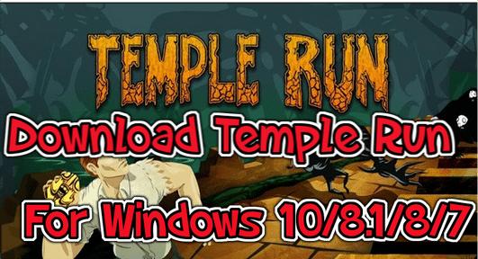 temple run for windows pc laptop