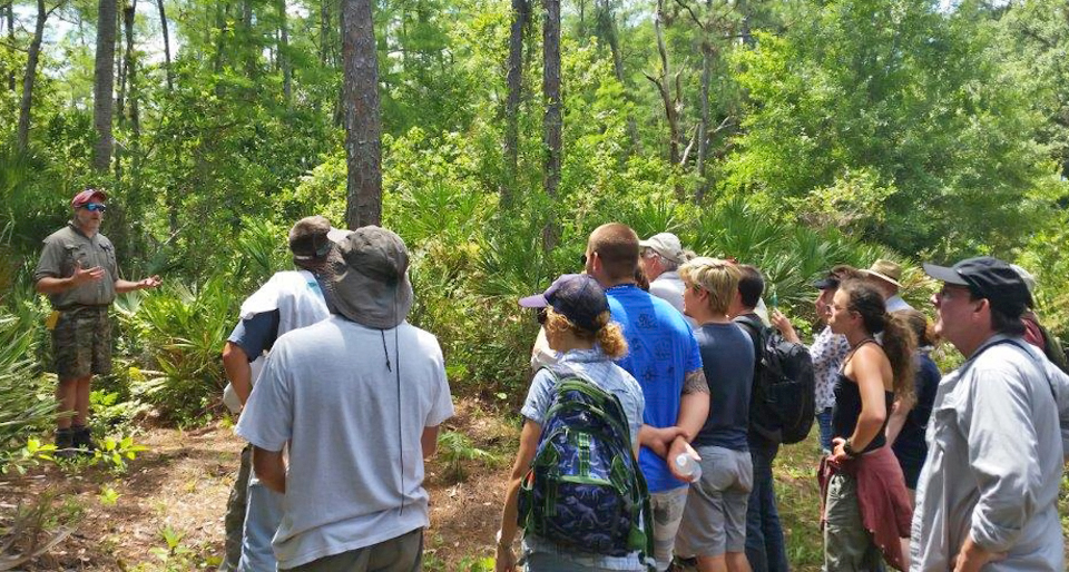 Swamp Buggy/Big Mound City tour lead by Christian Davenport