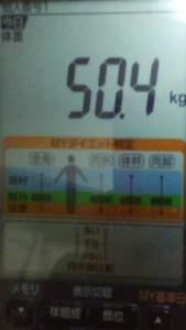 1004体重
