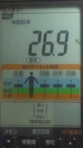 1001体脂肪率