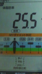 1020体脂肪率